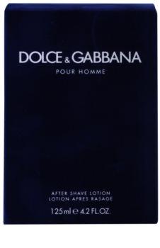 Dolce & Gabbana Pour Homme lozione after shave per uomo 125 ml