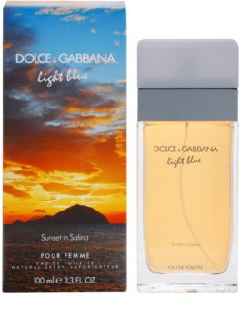 Dolce & Gabbana Light Blue Sunset in Salina eau de toilette pour femme 100 ml