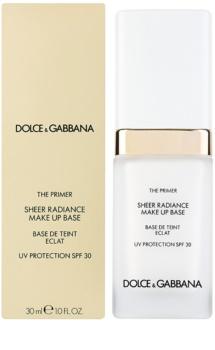 Dolce & Gabbana The Foundation The Primer baza de machiaj SPF 30