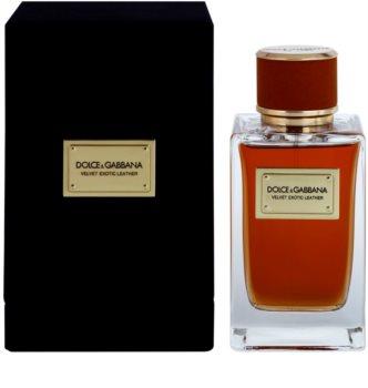 Dolce & Gabbana Velvet Exotic Leather Eau de Parfum para homens 150 ml