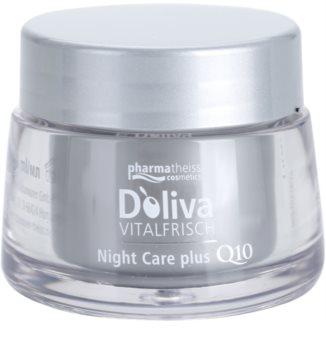 Doliva Vitalfrisch Q10 Nachtcrème  voor Regeneratie van de Huid