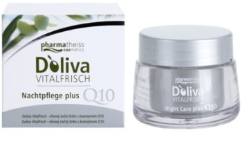 Doliva Vitalfrisch Q10 creme de noite para regeneração de pele