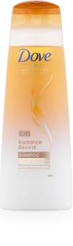 Dove Nutritive Solutions Radiance Revival shampoing pour redonner de la brillance aux cheveux secs et fragiles