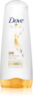 Dove Nutritive Solutions Radiance Revival après-shampoing pour cheveux secs et fragilisés