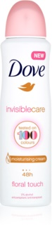 Dove Invisible Care Floral Touch Anti White Marks Antiperspirant without Alcohol