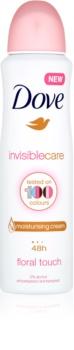 Dove Invisible Care Floral Touch antiperspirant proti bílým skvrnám bez alkoholu