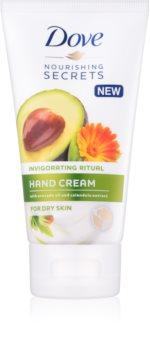 Dove Nourishing Secrets Invigorating Ritual crema per le mani per pelli secche