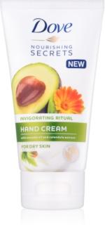 Dove Nourishing Secrets Invigorating Ritual krém na ruce pro suchou pokožku