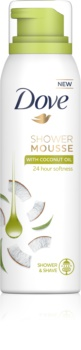 Dove Coconut Oil mousse de douche 3 en 1