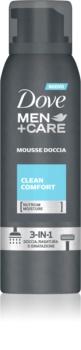 Dove Men+Care Clean Comfort doccia schiuma 3 in 1