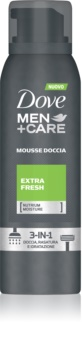 Dove Men+Care Extra Fresh doccia schiuma 3 in 1