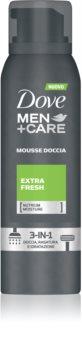 Dove Men+Care Extra Fresh pjena za tuširanje 3 u 1