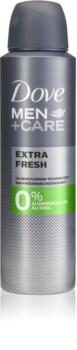 Dove Men+Care Extra Fresh desodorante sin alcohol ni aluminio 24h