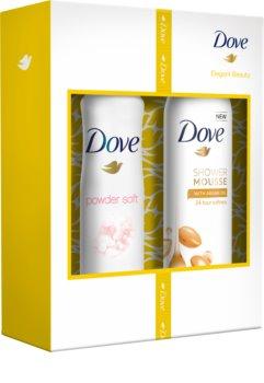 Dove Powder Soft kosmetická sada I.