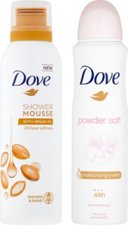 Dove Powder Soft kozmetická sada I.