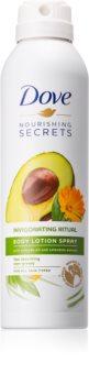 Dove Nourishing Secrets Invigorating Ritual latte corpo protettivo in spray