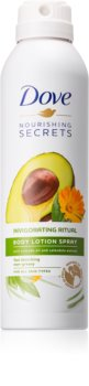 Dove Nourishing Secrets Invigorating Ritual ochranné telové mlieko v spreji