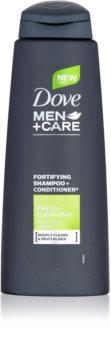 Dove Men+Care Fresh Clean shampoing et après-shampoing 2 en 1 pour homme