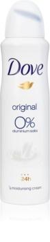 Dove Original dezodorant brez alkohola in vsebnosti aluminija 24 ur