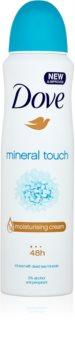 Dove Mineral Touch antiperspirant v pršilu