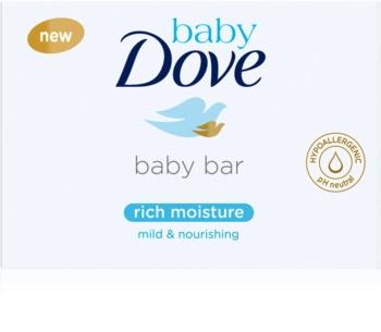 Dove Baby Rich Moisture pastilla de jabón cremosa