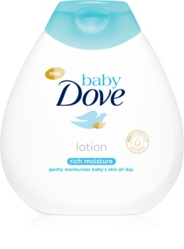 Dove Baby Rich Moisture leite corporal apaziguador