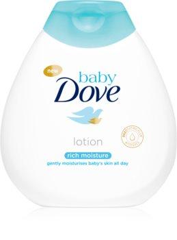 Dove Baby Rich Moisture zklidňující tělové mléko