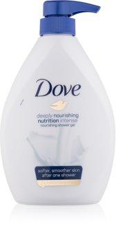 Dove Deeply Nourishing gel de douche nourrissant avec pompe doseuse