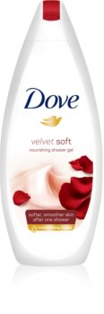 Dove Velvet Soft gel de dus hidratant