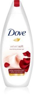 Dove Velvet Soft зволожуючий гель для душу