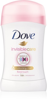 Dove Invisible Care Floral Touch deodorant solid împotriva petelor albe fara alcool