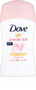 Dove Powder Soft Antiperspirant Stick 48h