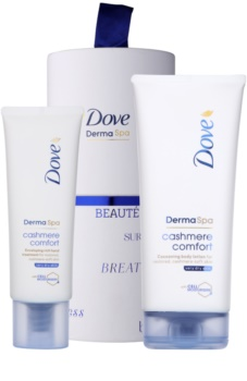 Dove DermaSpa Cashmere Comfort косметичний набір I.
