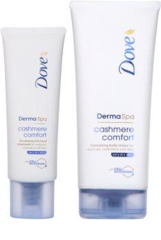 Dove DermaSpa Cashmere Comfort lote cosmético I.