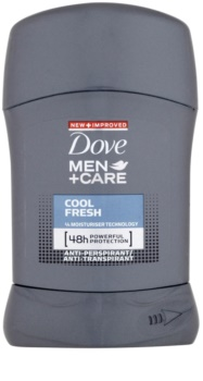 Dove Men+Care Cool Fresh antitranspirante en barra 48h