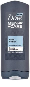 Dove Men+Care Cool Fresh Duschgel für Körper und Gesicht