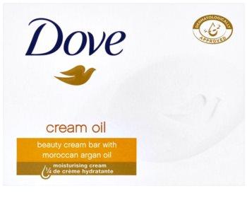 Dove Cream Oil tuhé mýdlo s arganovým olejem