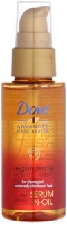 Dove Advanced Hair Series Regenerate Nourishment Herstellende Olie Serum  voor Sterk Beschadigd Haar