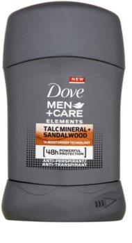 Dove Men+Care Elements antitranspirante en barra 48h