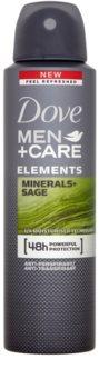 Dove Men+Care Elements antiperspirant in dezodorant v pršilu 48 ur