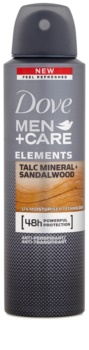 Dove Men+Care Elements antitranspirante en spray 48h