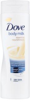 Dove Essential Nourishment leite corporal para pele seca