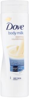 Dove Essential Nourishment telové mlieko pre suchú pokožku