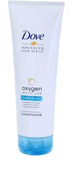Dove Advanced Hair Series Oxygen Moisture condicionador hidratante