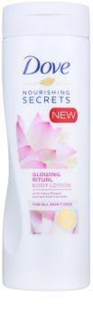 Dove Nourishing Secrets Glowing Ritual testápoló tej