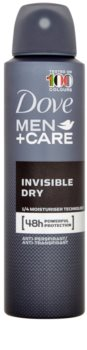 Dove Men+Care Invisble Dry antitranspirante em spray 48 h