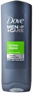 Dove Men+Care Extra Fresh gel de dus corp si fata