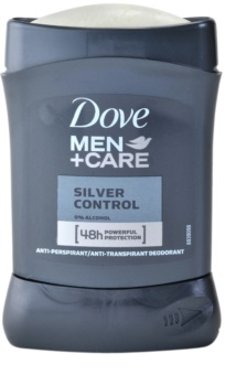 Dove Men+Care Silver Control antitranspirante en barra 48h