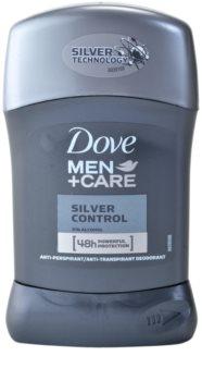 Dove Men+Care Silver Control tuhý antiperspitant 48h