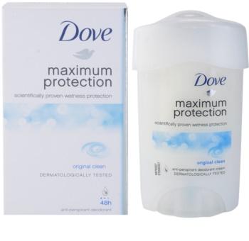 Dove Original Maximum Protection antitranspirante en crema